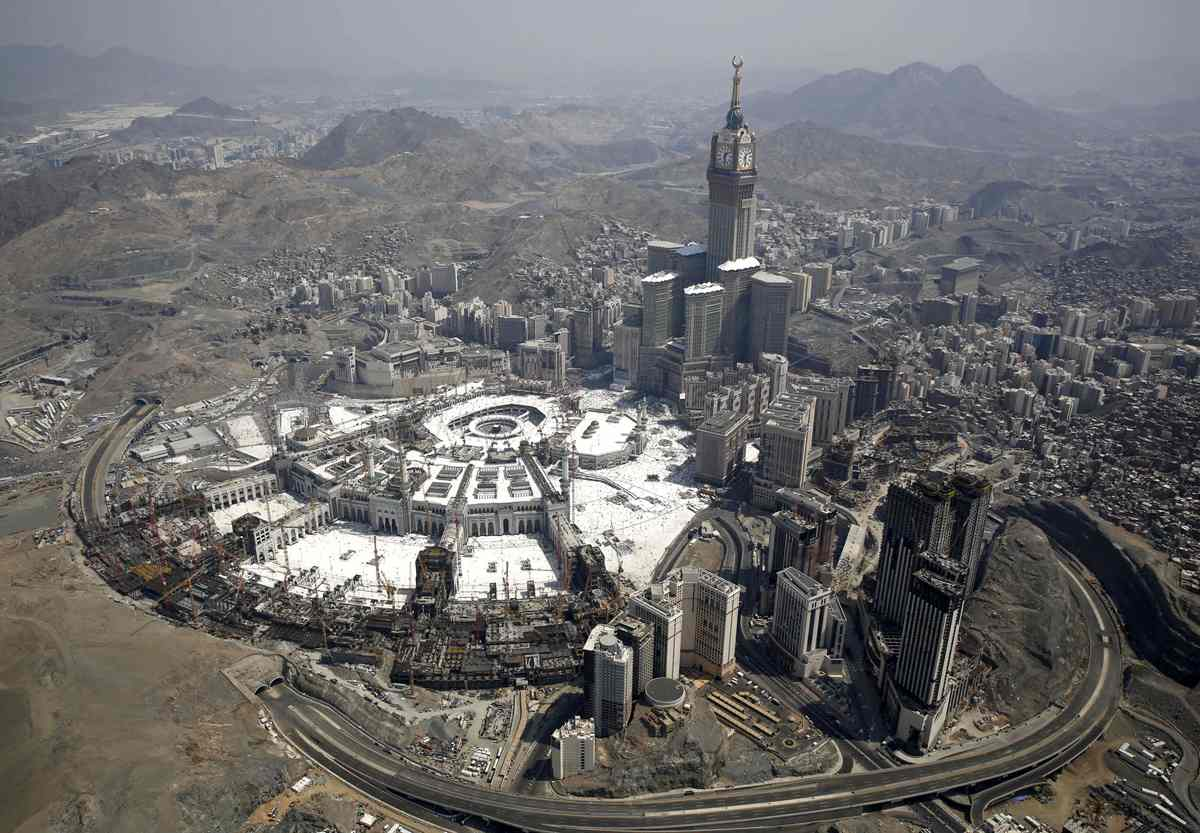 Mecca Then and Now, 126 Years of Growth | The Atlantic