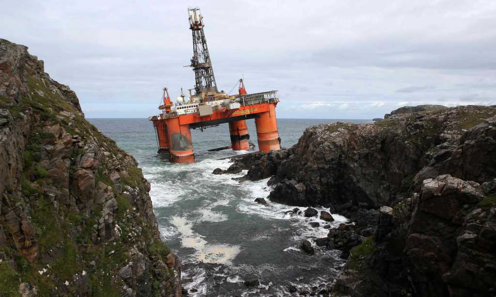 Where oil rigs go to die | The Guardian