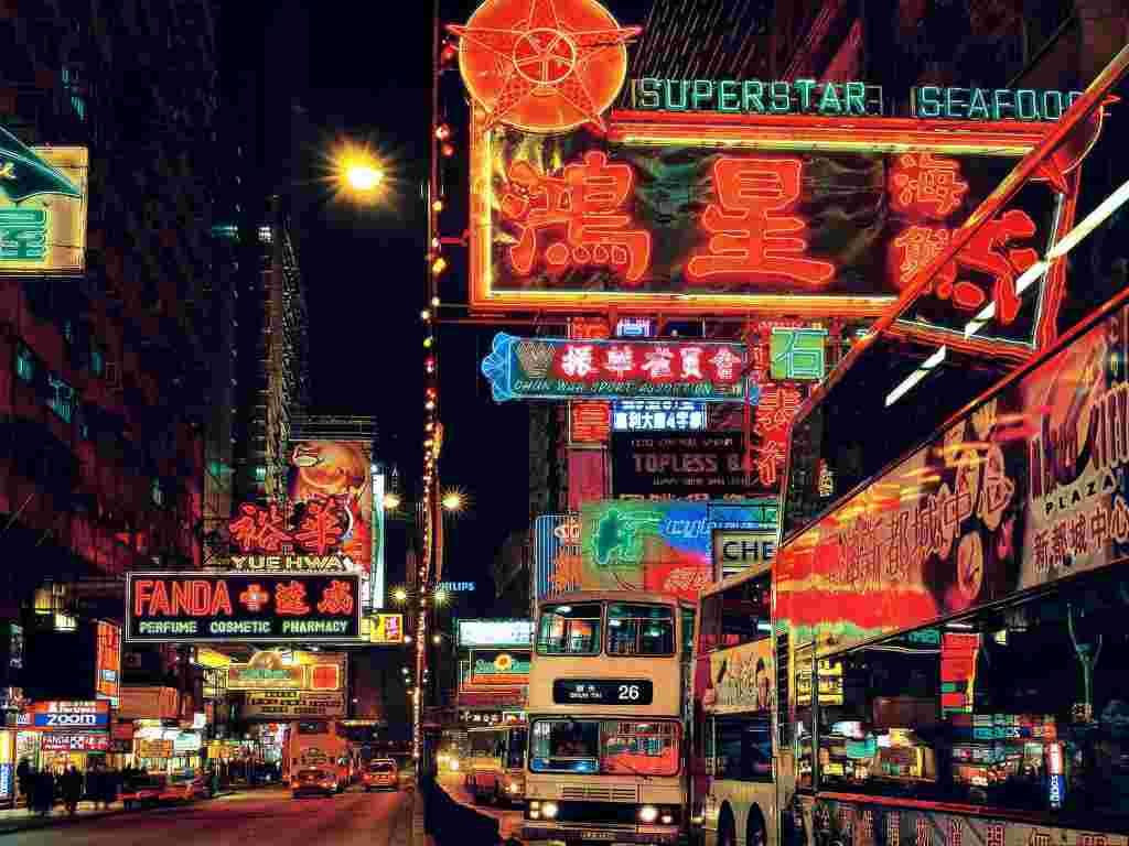 Hong Kong's fight to save its neon shimmer – a photo essay | The Guardian